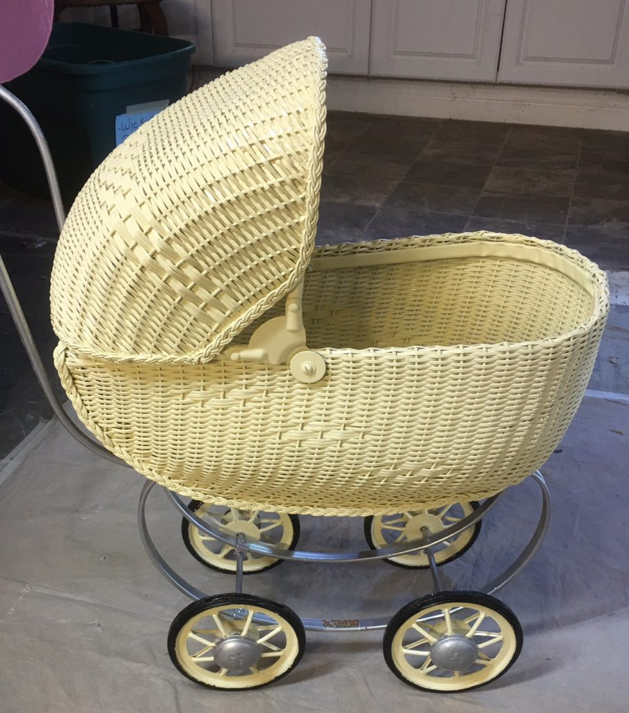 Restored Baby Buggy 1950's
